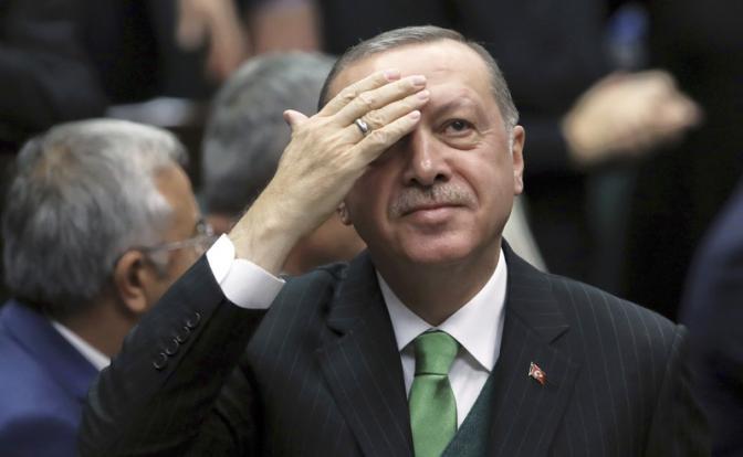 Эрдоган торговал