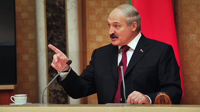 Лукашенко обвинил