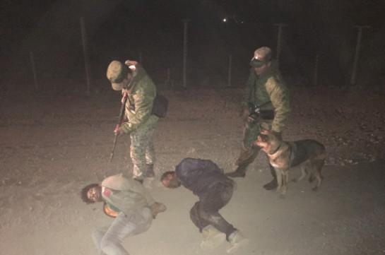 Задержаны нарушители