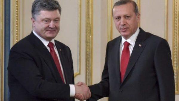Порошенко поблагодарил Эрдогана