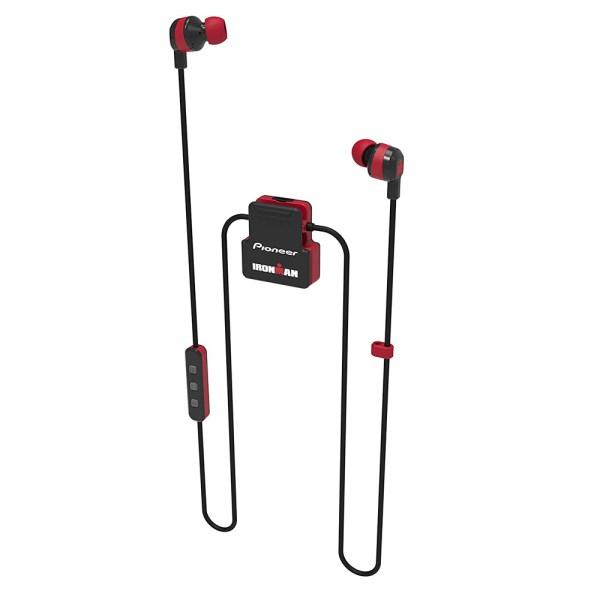 Fones de Ouvido Pioneer Ironman Sem Fio SE-IM5BT-R - Vermelho