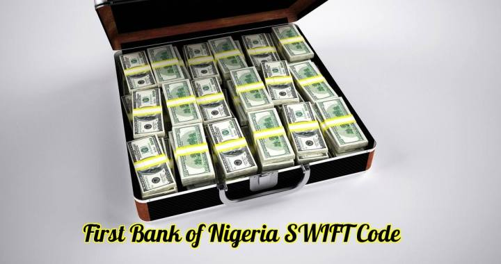 First Bank of Nigeria SWIFT Code