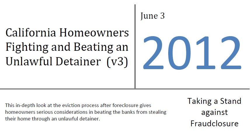 Beating Unlawful Detainers