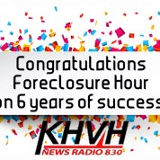 CONGRATULATIONS TO THE FORECLOSURE HOUR by Gary Dubin