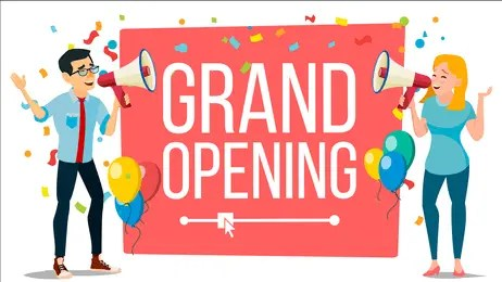 Vinyl Banners for Grand Opening