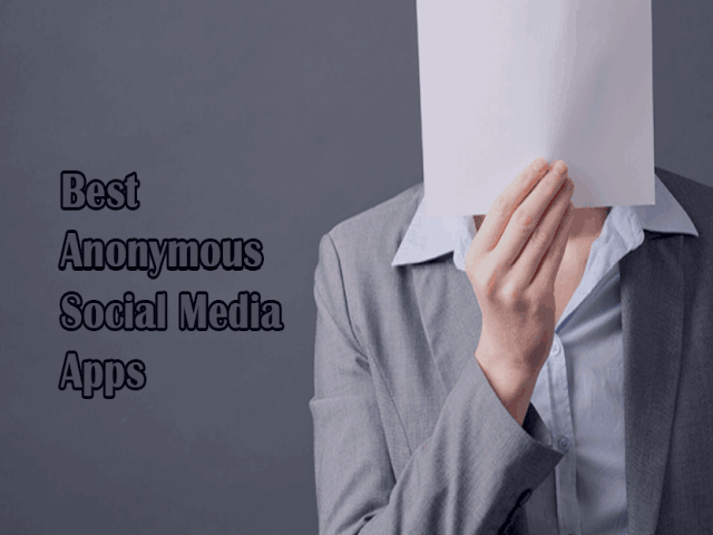 Best Anonymous Social Media Apps 2020