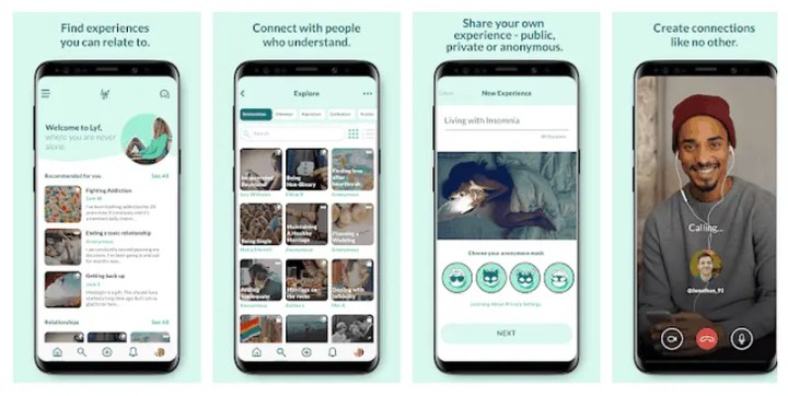 Lyf - You're not alone 8 Best Anonymous Social Media Apps 2020