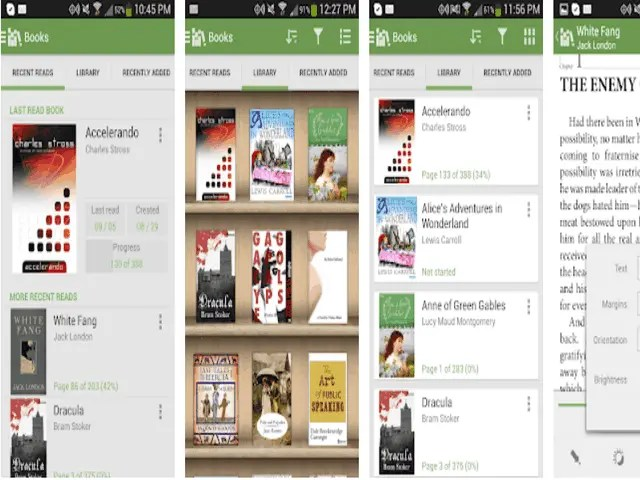 6 Best eBook Reader Apps for Android 2021 3