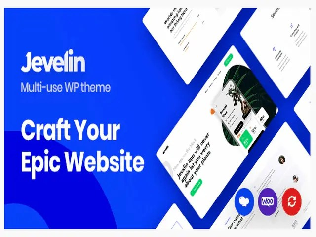 Javelin Top E-Commerce WordPress Theme For Business In 2021
