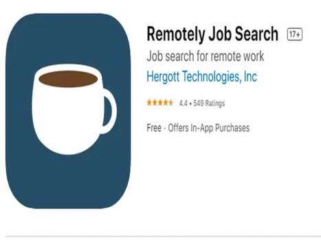 Remotely Job Search Best job search apps