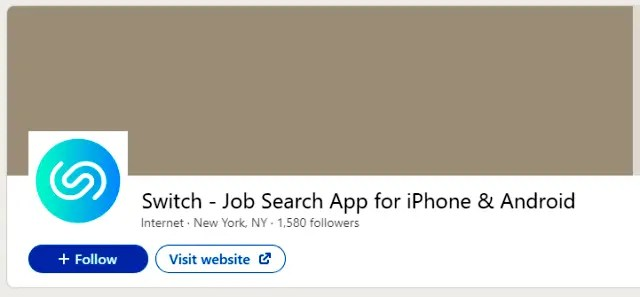 Switch - Job Search App for iPhone & Android Best job search apps
