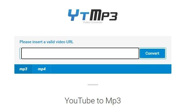 YTMP3 - YouTube To Mp3 Converter