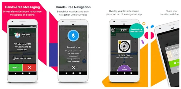 Drivemode Handsfree Messages And Call For Driving