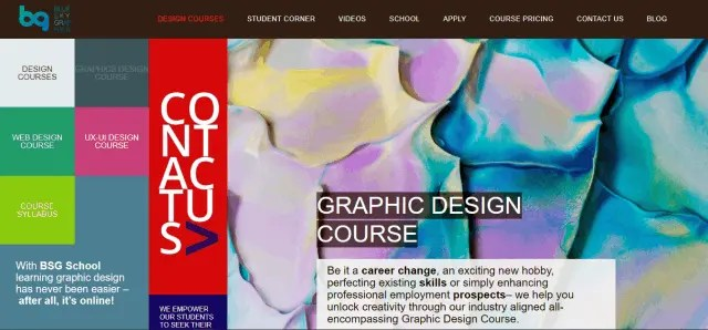 How Do Beginners Learn Graphic Design in Blue Sky Graphics 1