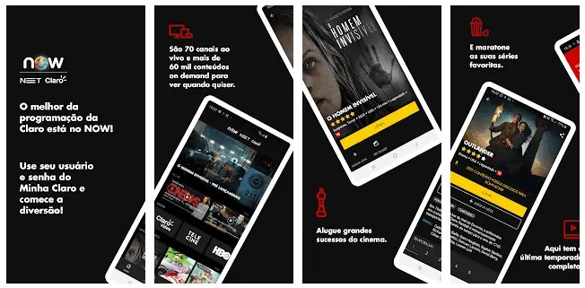 What Are The Best Android TV Apps In 2021 NOW NET e Claro