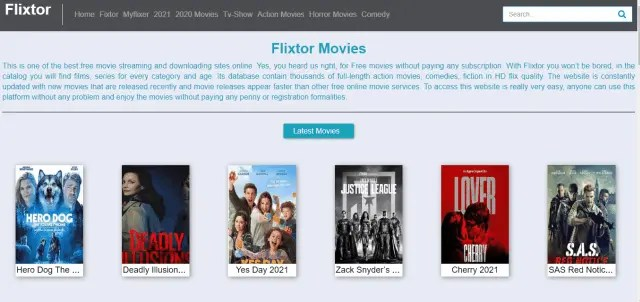 Top 6 Websites to Watch Free Movies Without Sign Up Flixtor