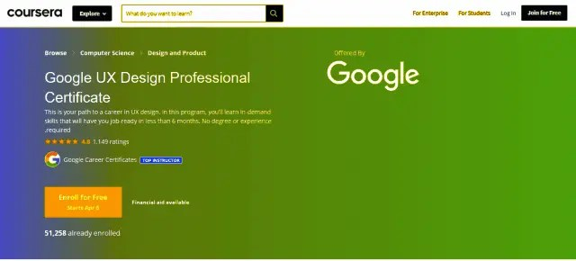 15 Best Part-time Graphic Design Courses For A Creative Designing Career Google UX Design Professional Certificate