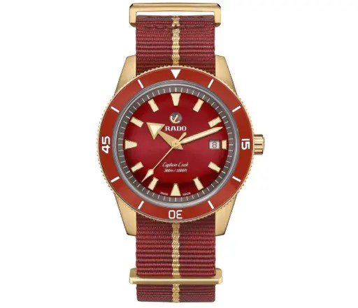 Rado Watches CAPTAIN COOK AUTOMATIC BRONZE
