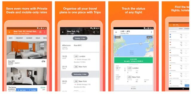 Best Hotel And Flight Ticket Booking Apps For Android 2021 KAYAK - Flights, Hotels & Car Hire