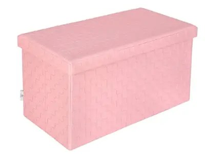 The 12 Best Outdoor Storage Boxes for Your Outdoor Space B FSOBEIIALEO Pink Storage Ottoman
