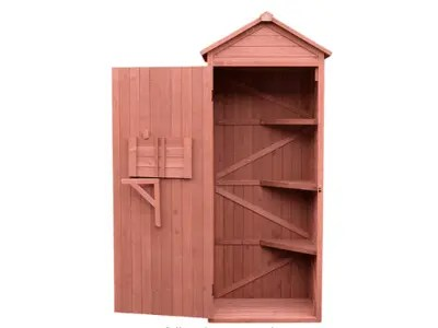 The 12 Best Outdoor Storage Boxes for Your Outdoor Space Leisure Season Vertical Storage Shed