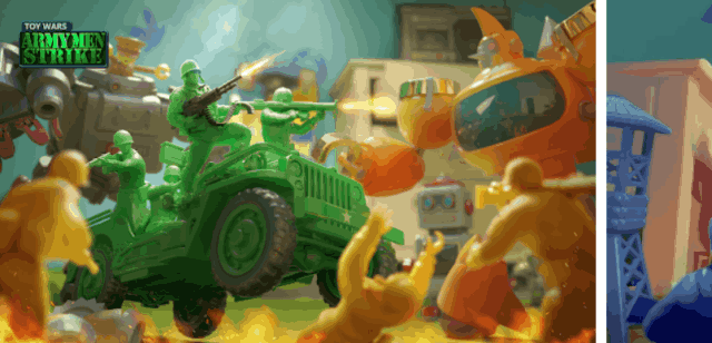 Best Toy Army Games For Android Army Men Strike