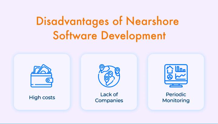 Nearshore development drawbacks