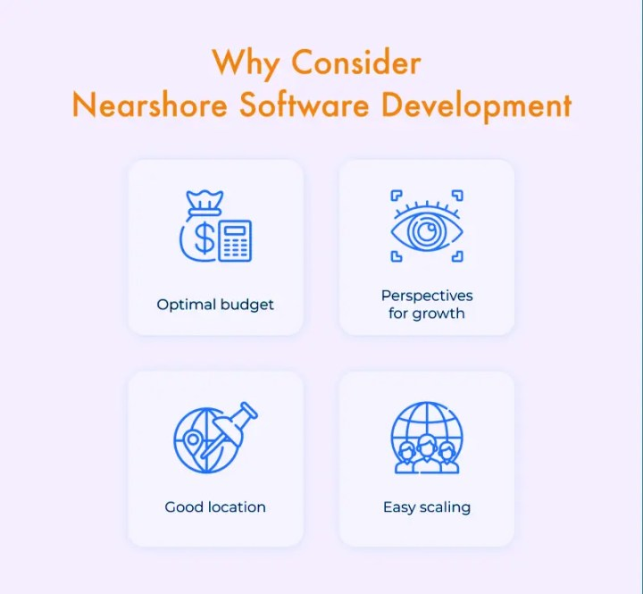 Reasons to consider nearshore outsourcing.