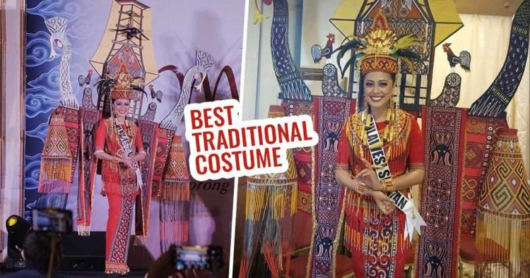 Woow, Gunakan Tema Toraja, Sulawesi Selatan Raih Best Traditional Costume Puteri Indonesia 2018