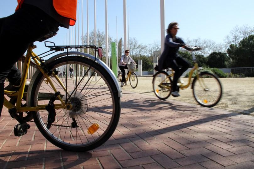 Foto bicis a ciutat