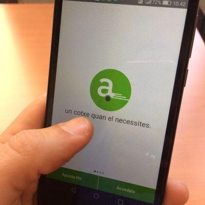 Foto aplicació Avancar