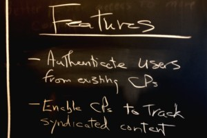 Cambridge ITE meeting chalkboard: Features
