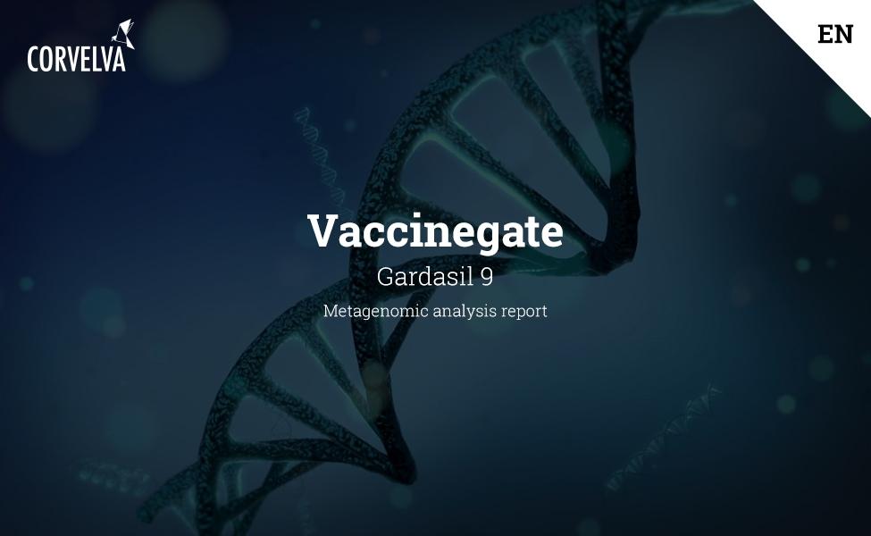 Vaccinegate relatório da análise metagenómica da Gardasil 9