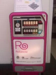 Автомат по продаже балеток.