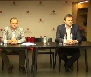 Андрей Загороднев, «СИБА-Вендинг», и Сергей Корниенко, ГК UVENCO