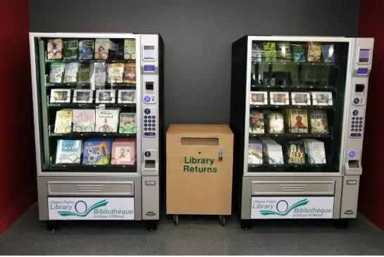 Книжные автоматы в Оттаве