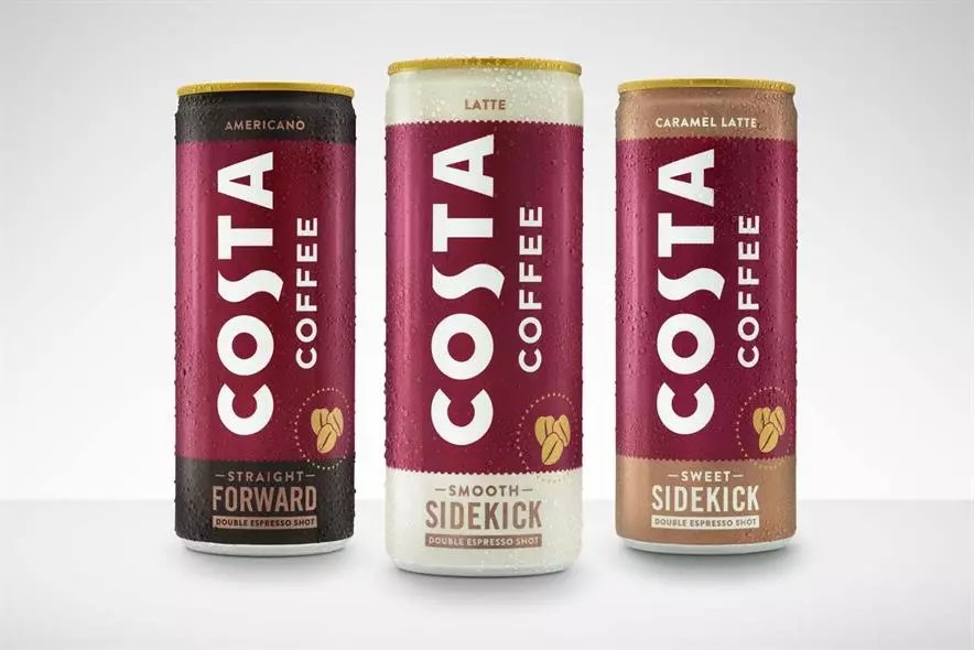 Coca-Cola и Costa Coffee запускают готовый к употреблению (RTD) кофе Costa Coffee
