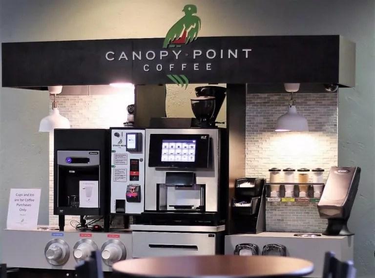 Вендинговая кофейня по-американски