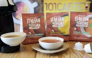 Это революция: супы в капсулах для приготовления в кофемашинах