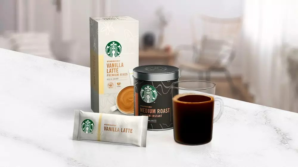 Nestlé и Starbucks запустили растворимый кофе Starbucks Premium