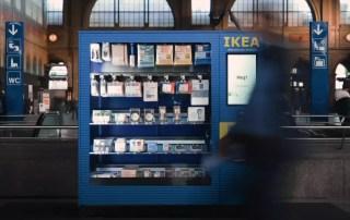 Самый маленький магазин IKEA