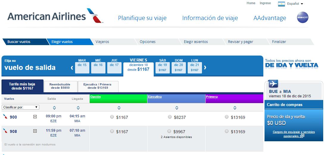 American_Airlñines_Vuelve_A_Vender_Desde_Argentina_2015.12