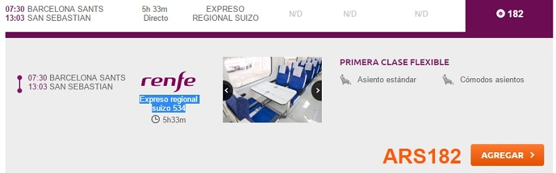 RailEurope_Reserva_SanSebastian_Barcelona_Alvia