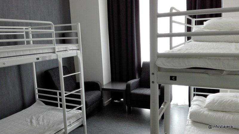 Oslo_Saga_Hostel_Central_Habitacion_Compartida