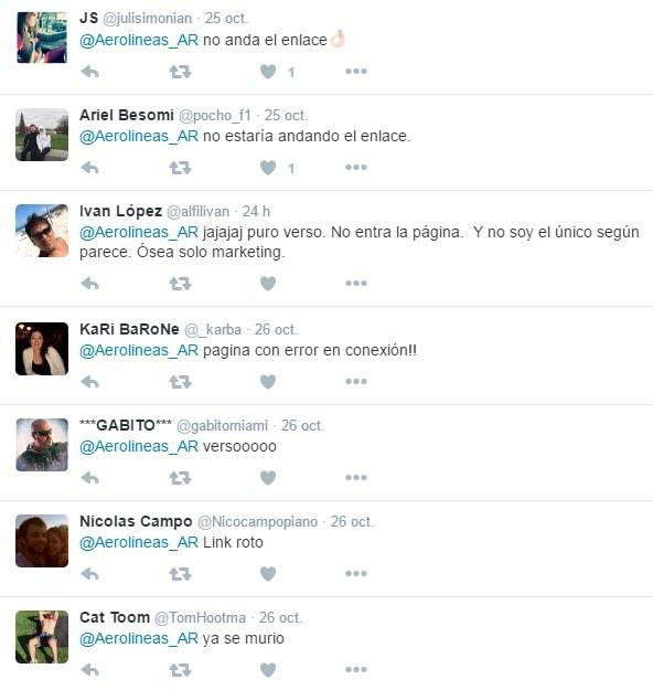 quejas_aerolineas_argentinas_web_caida_promos