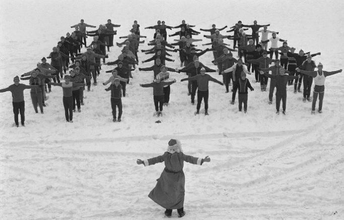 в СССР был культ спорта
