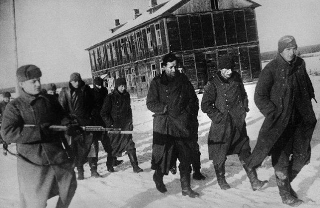 Немцы в советском плену