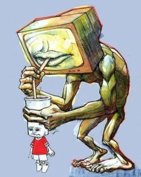 Телевизоры в жизни людей