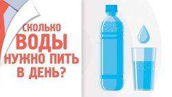 Сколько нужно пить воды каждый день?