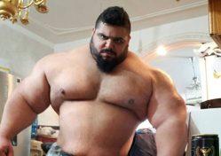 Саджад Гариби - иранский Халк. Невероятных размеров атлет
